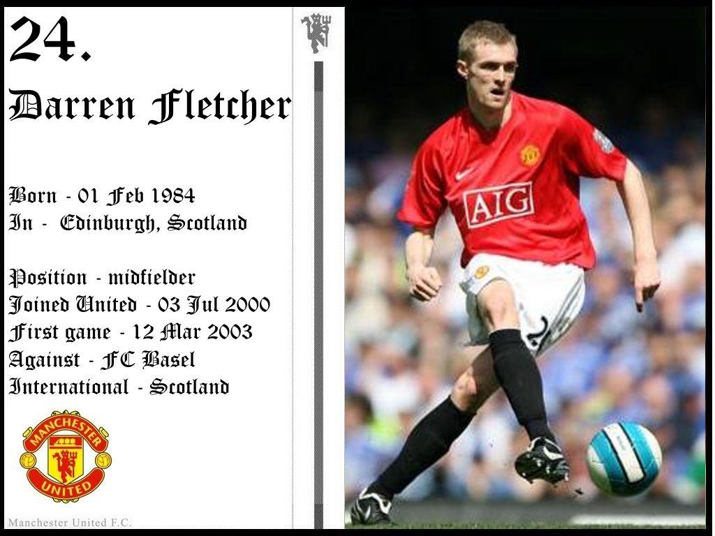 Chùm ảnh: Darren Fletcher (76)