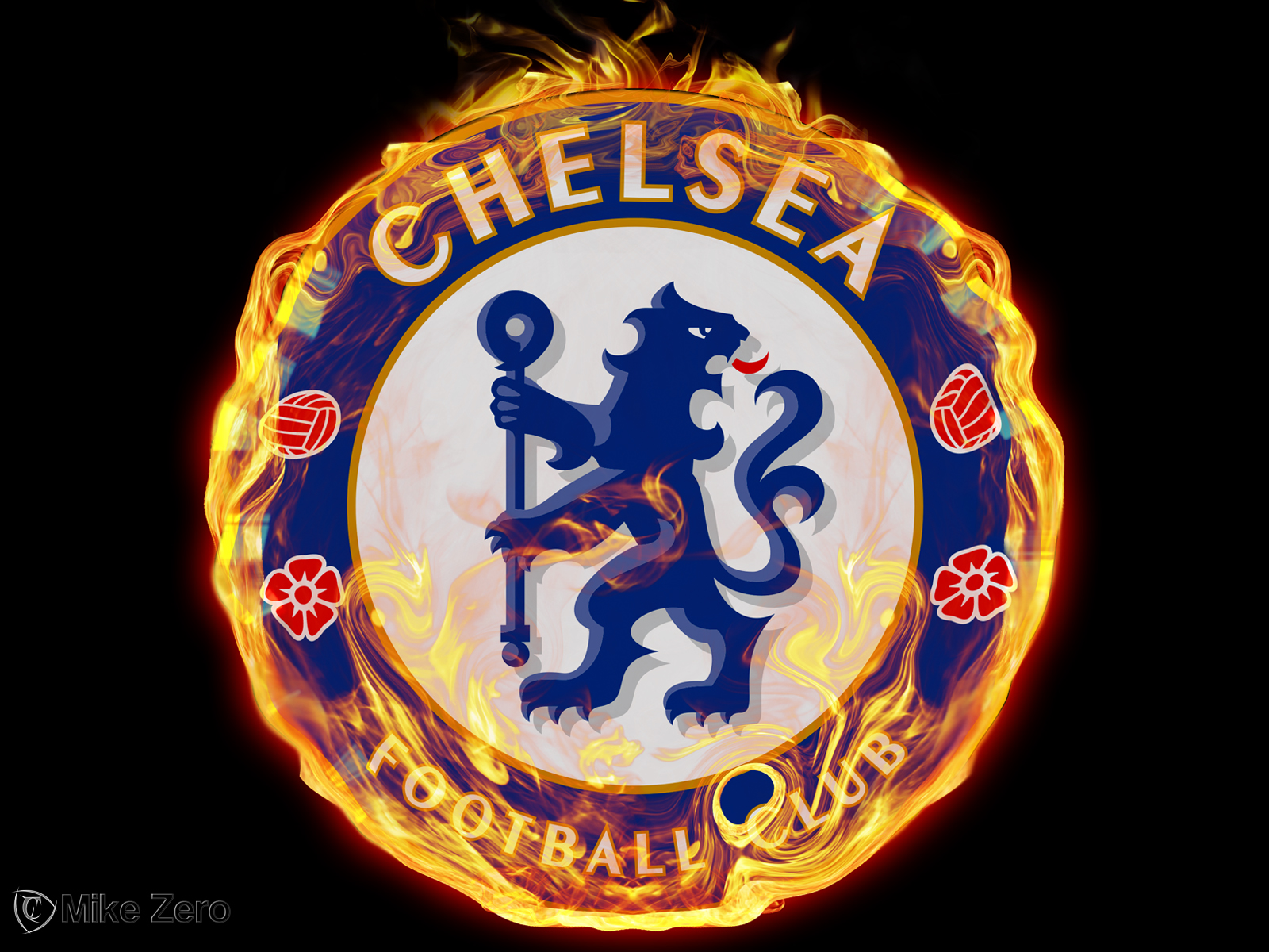 Chelsea FC On Fire
