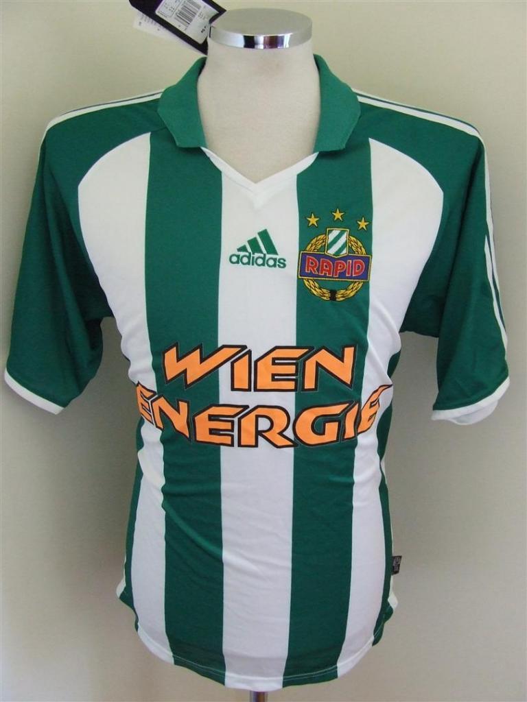 Chùm ảnh: Rapid Wien jersey (1)