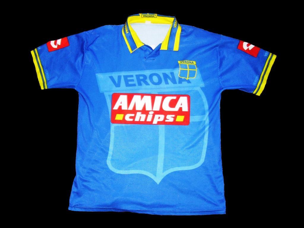 Chùm ảnh: Hellas Verona jersey (4)
