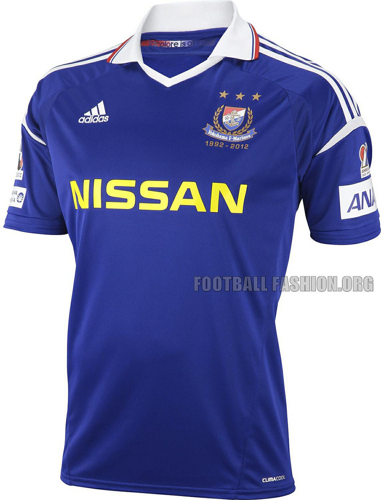 Chùm ảnh: Yokohama Marinos jersey (3)