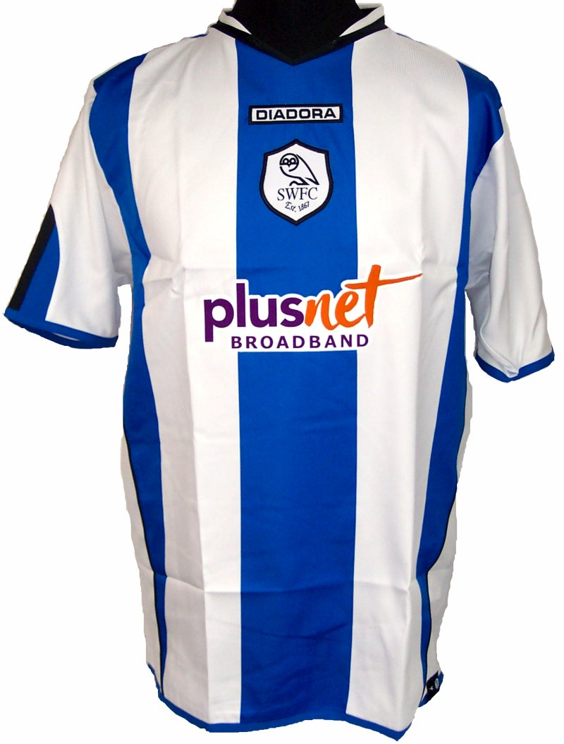 Chùm ảnh: Sheffield Wednesday jersey (2)